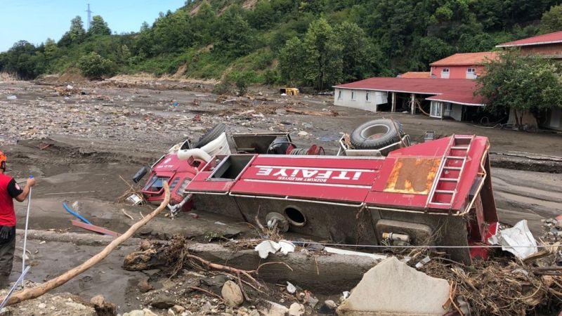 Nevşehir İHH Arama Kurtarma Ekipleri Sel Bölgesinde