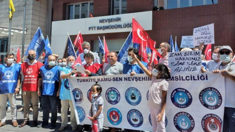 Türkiye Kamu-sen'den Hükümete Çağrı