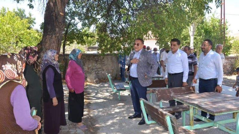 Milletvekili Menekşe Gülşehir'in Köylerini Ziyaret Etti