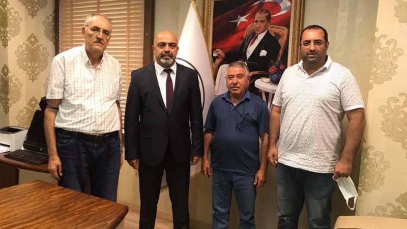 ÜZO Başkanından Nevşehir Barosu'na Hayırlı Olsun Ziyareti