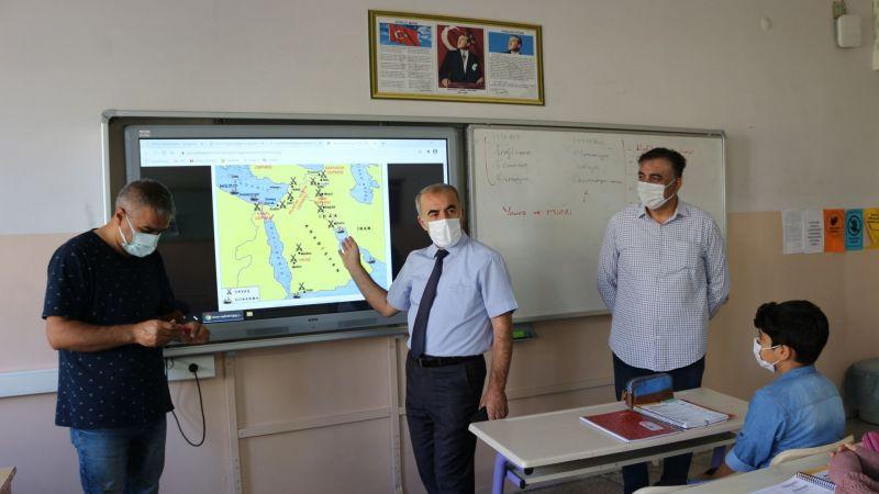 İl Milli Eğitim Müdürü Murat Demir'den Destekleme ve Yetiştirme Kurslarına Ziyaret