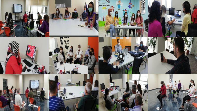 Bahçeşehir Koleji Nevşehir Kampüsü'nde Hizmet İçi Eğitimler Online Başladı