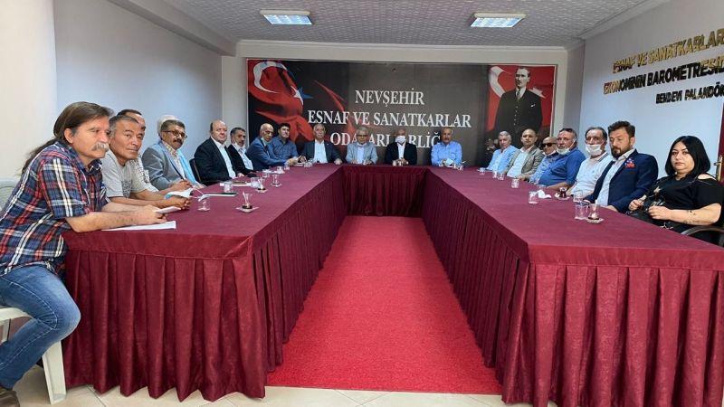 Nevşehir CHP Adeta STK'lara Çıkarma Yaptı