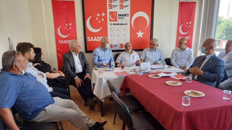 "SP İl Başkanı Ali Doğan Simit, ""İnsanımızın Yüzü Gülsün İstiyoruz"""