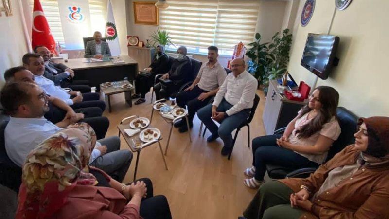 AK Parti STK Ziyaretleri Hız Kesmeden Devam Ediyor