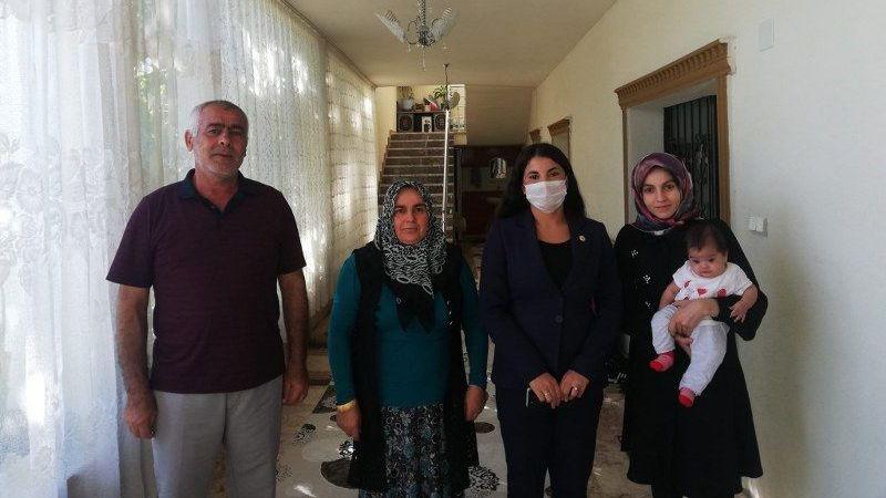 Acıgöl Kaymakamı Yıldız'dan Şehit Ailesine Ziyaret