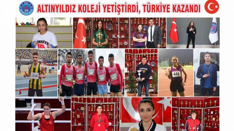 Altınyıldız Koleji Yetiştirdi, Türkiye Kazandı
