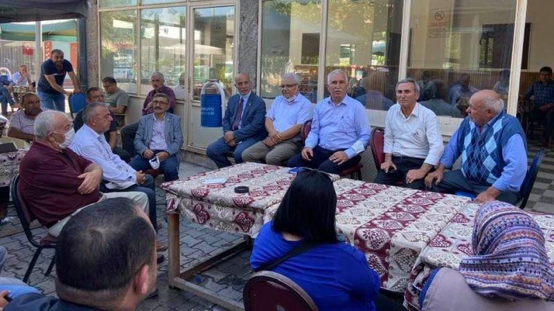 CHP Heyeti 5 İlçede Ziyaretlerde Bulundu