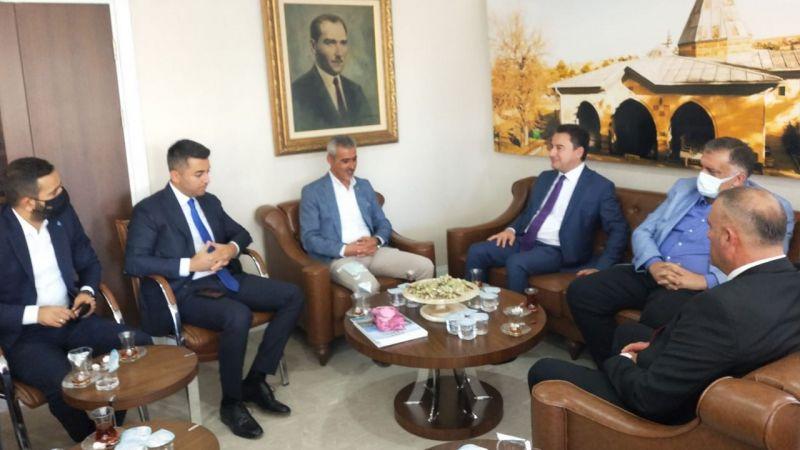 Deva Partisi Genel Başkanı Ali Babacan Hacıbektaş'a Geldi