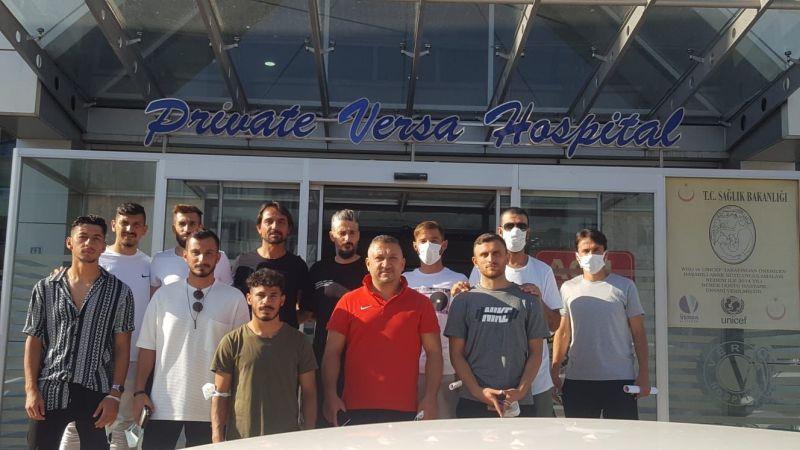 Nevşehir Belediyespor'da Teknik Heyet ve Oyuncular Yeni Sezon Öncesi Sağlık Kotrolünden Geçti