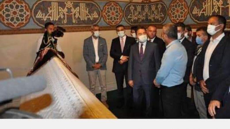 Başkan Tunçbilek, Ali Babacan'ın Ziyaretinden Memnuniyetini Dile Getirdi