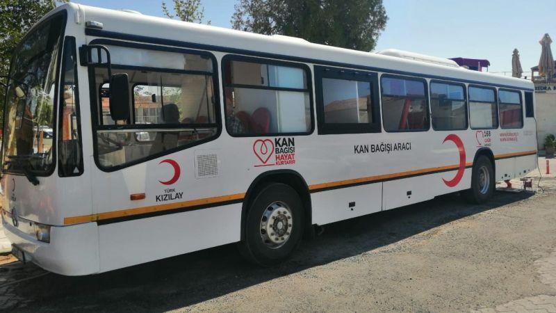 Kızılay Kan Bağış Aracı Ortahisar'da