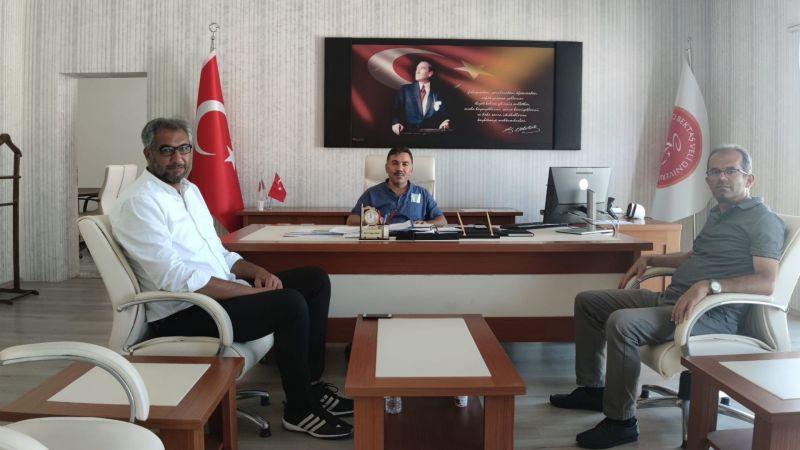 Türk Eğitim Sen Yeni Dekanlara Hayırlı Olsun Ziyaretinde Bulundu