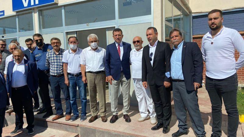 İmamoğlu'na Kapadokya Havalimanı'nda Karşılama