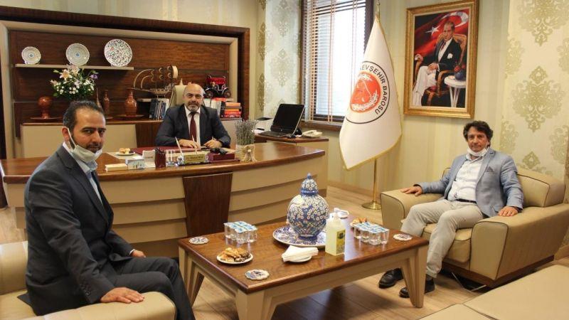 Baro Başkanlığına Hayırlı Olsun Ziyaretleri Sürüyor