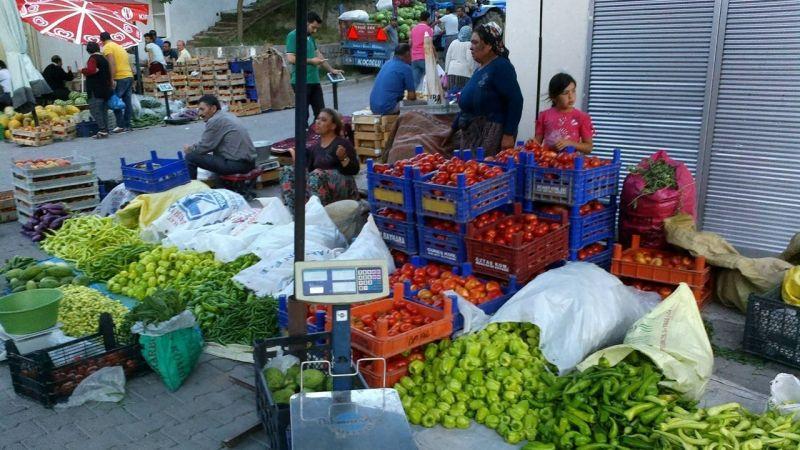 Köy Ürünleri Büyük İlgi Görüyor