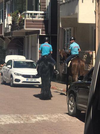 Jakem Atlı Jandarma Ekibi Filyos'ta