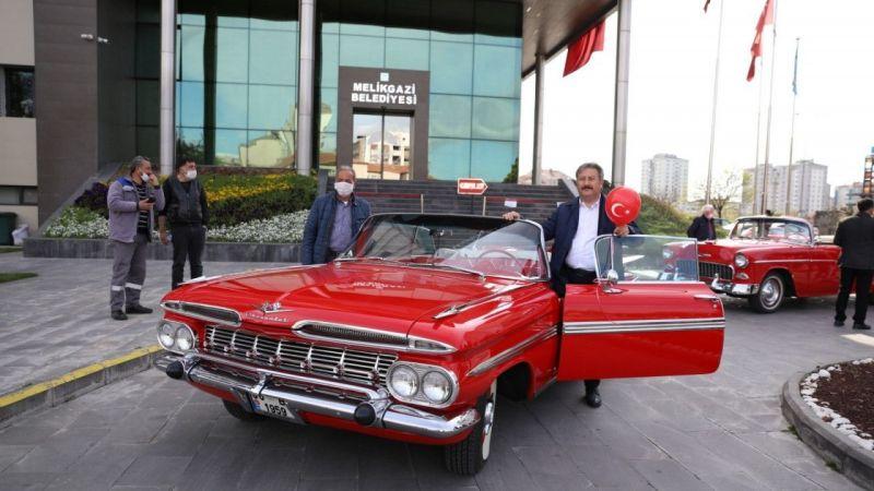 Bu Yıl 5.si Düzenlenen Kayseri Klasik Otomobil Festivali Başlıyor