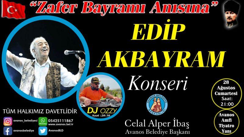 Avanos Belediyesinden Edip Akbayram Konseri
