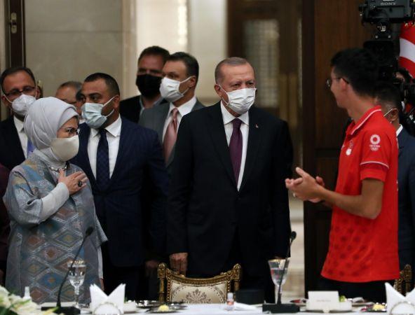 Cumhurbaşkanı Erdoğan'dan Tokyo 2020 Açıklaması