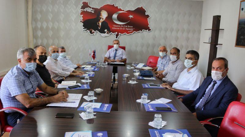 İl Milli Eğitim Müdürü Murat Demir İlçe Milli Eğitim Müdürleri Kurul Toplantısı Yaptı