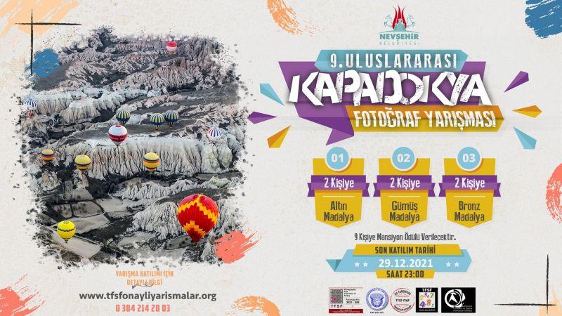 Nevşehir Belediyesi Kapadokya 9.Uluslararası Fotoğraf  Yarışması İçin Başvurular Başladı