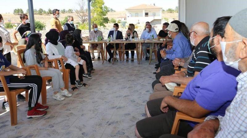 Başkan Dinç, Kalaba ve Avanos Köylerindeydi