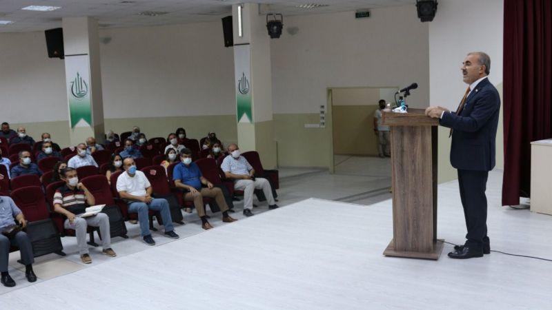 Okul ve Kurum Müdürleri Toplantısı Yapıldı