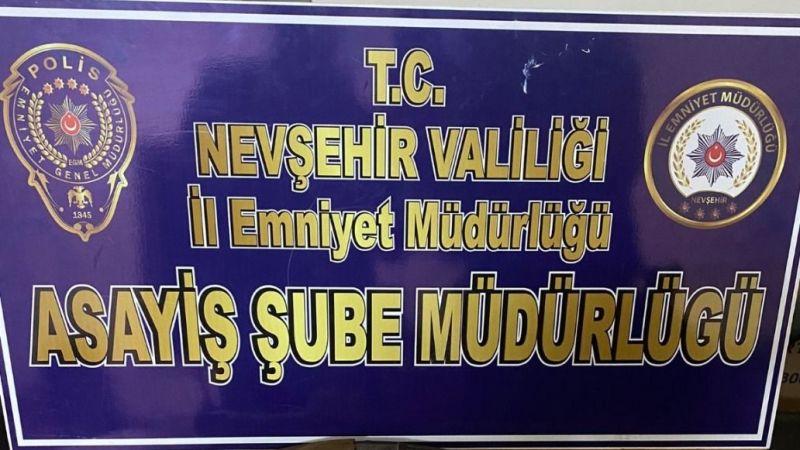 Nevşehir Emniyeti Çalışmalarında Hız Kesmiyor!