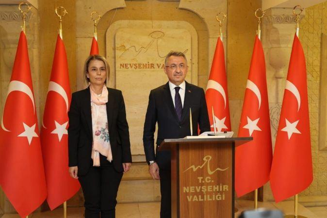 Cumhurbaşkanı Yardımcısı Fuat Oktay Nevşehir'de