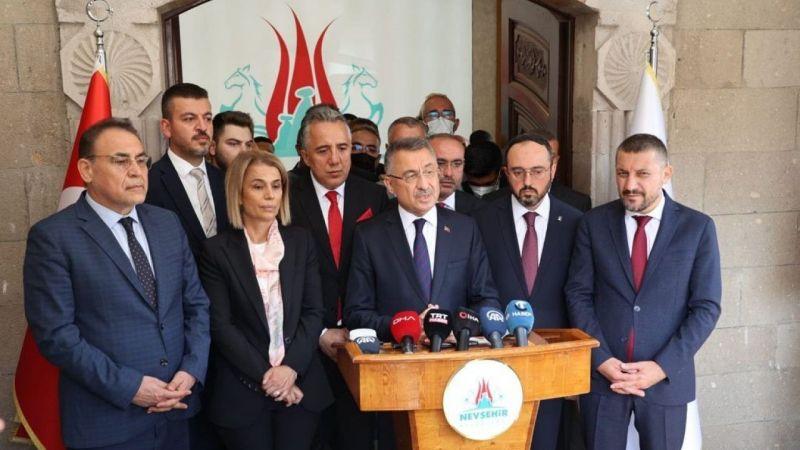 Cumhurbaşkanı Yardımcısı Oktay'dan 'Afganistan' Açıklaması