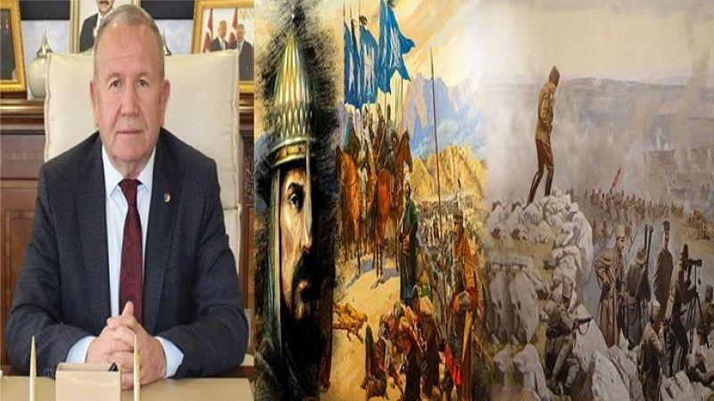 Başkan İbrahim Salaş'dan Malazgirt Zaferi ve Büyük Taarruz Mesajı