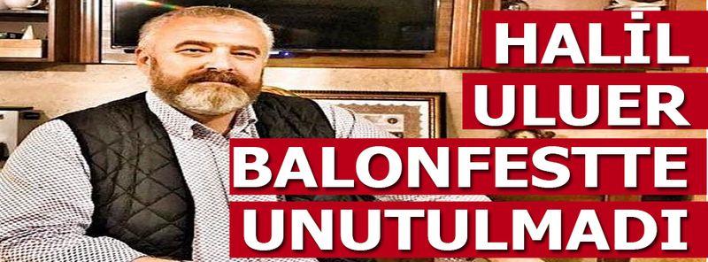 Balonfestte Bir Balon Nevşehirlileri Duygulandırdı