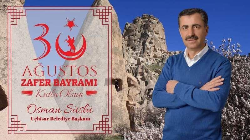 Başkan Osman Süslü'den Zafer Bayramı Mesajı
