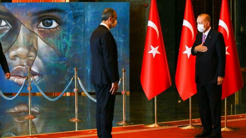 Cumhurbaşkanın 30 Ağustos Tebriklerini Kabulündeki Tablo Detayı