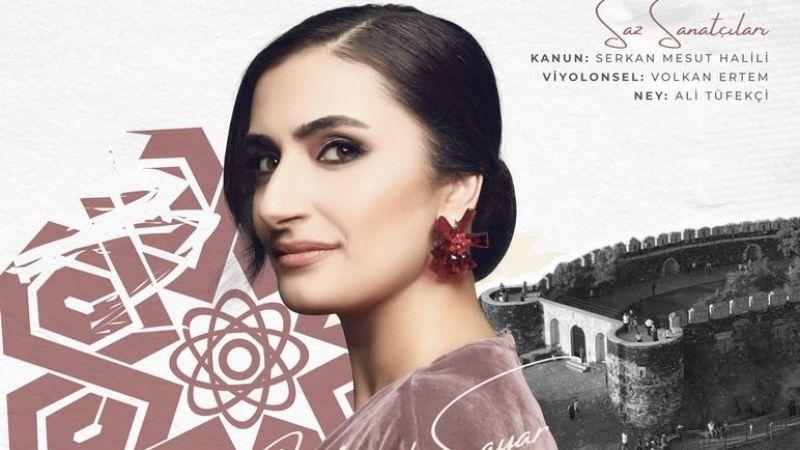Yaprak Sayar Konseri Bu Akşam Nevşehir Kalesi'nde