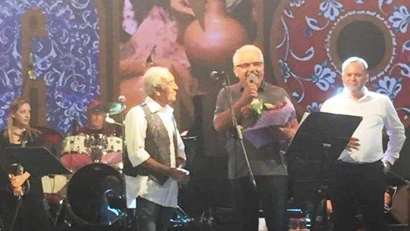 Başkan Gülmez  Edip Akbayram Konserinde Konuştu