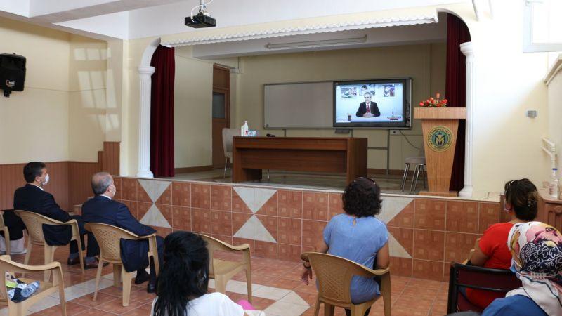 İl Milli Eğitim Müdürü Demir, Mesleki Çalışma Programının İlk Gününde Okullardaydı