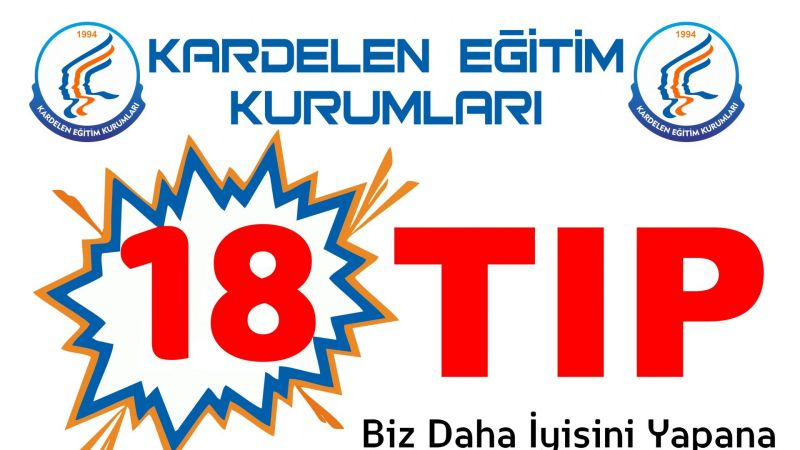 Türkiye 1.lerinin Okulundan 18 Tıp!