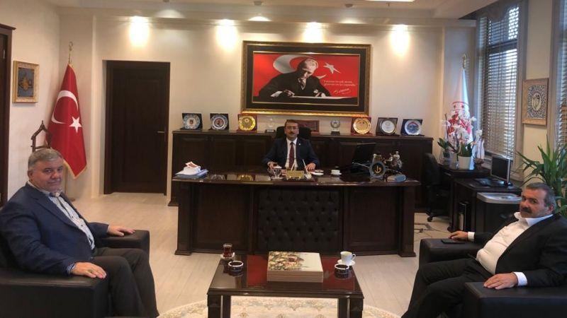 Başkan İnce ve Başkan Güçlü'den Başsavcı Çınar'a Ziyaret