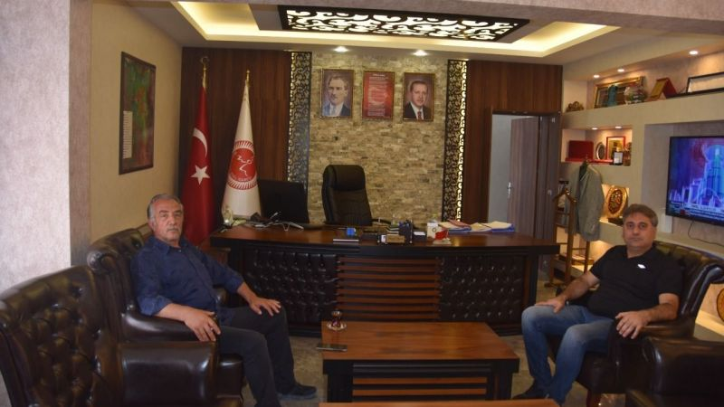 Muhtarlardan Genel Sekreter Duru'ya Ziyaret