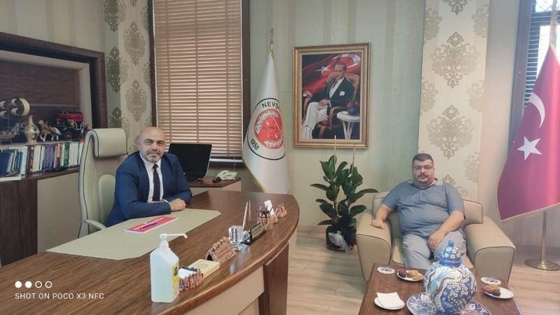 Can Taşkın'dan Baro Başkanı Boz'a Ziyaret