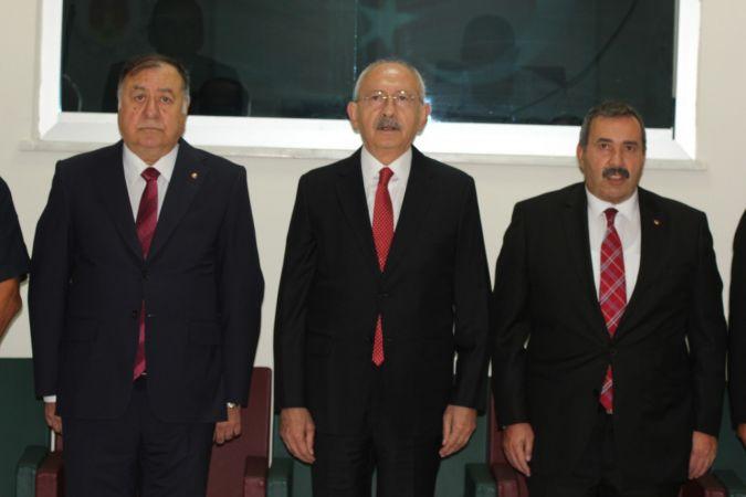 Nevşehir'de CHP Lideri Kılıçdaroğlu, İş Adamlarıyla Buluştu