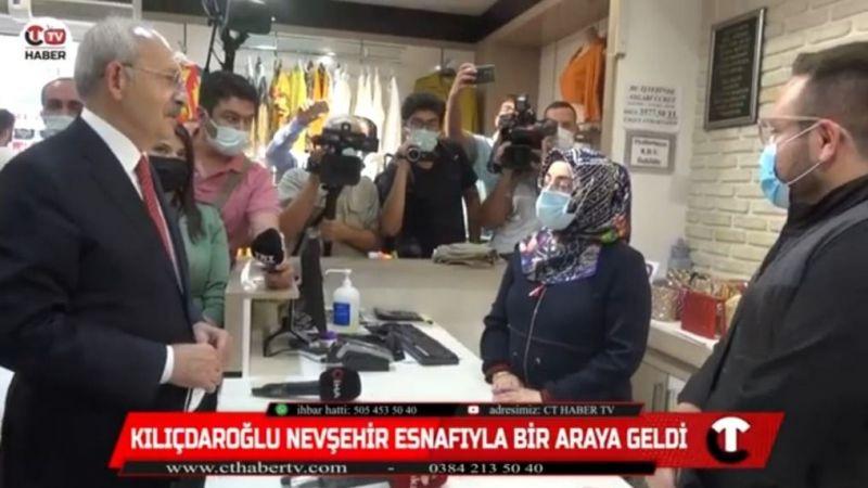 Kılıçdaroğlu Nevşehirli Esnaflarla Bir Arada!