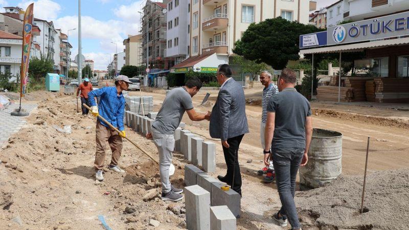 Nevşehir'de Altyapı Çalışmaları Tamamlanan Bölgelerde Sıcak Asfalt Hazırlıkları Başladı!