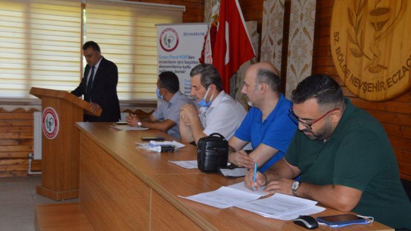 Nevşehir'de 2021 Eczacılar Genel Kurulu Toplandı