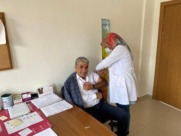 Kalaba Kasabası Başkanı Yorgancı'dan Aşı Çağrısı