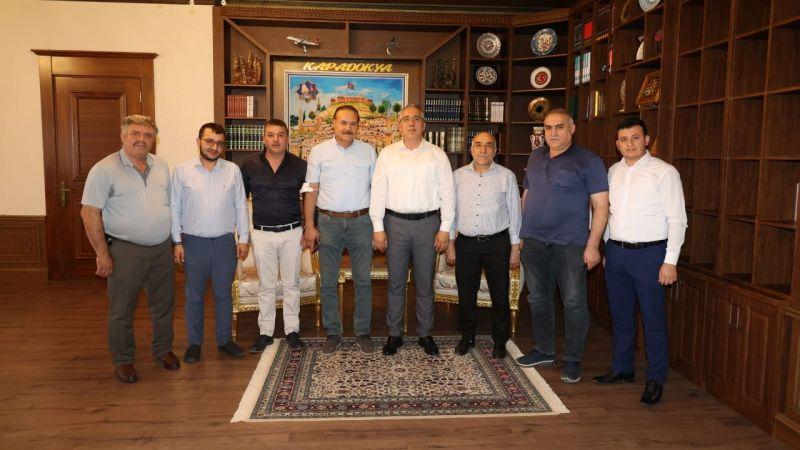 Nevşehir Fırıncılar Odası'ndan Başkan Savran'a Ziyaret