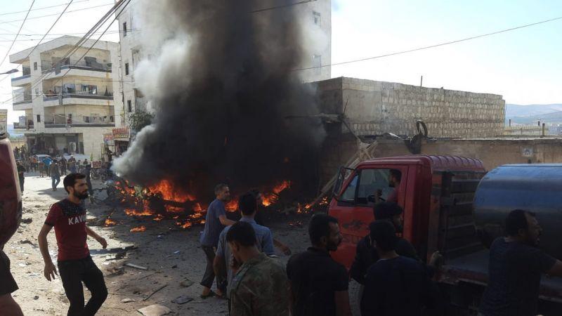 Bomba Yüklü Araçla Afrin'de Saldırı: 1 Ölü, 1 Yaralı