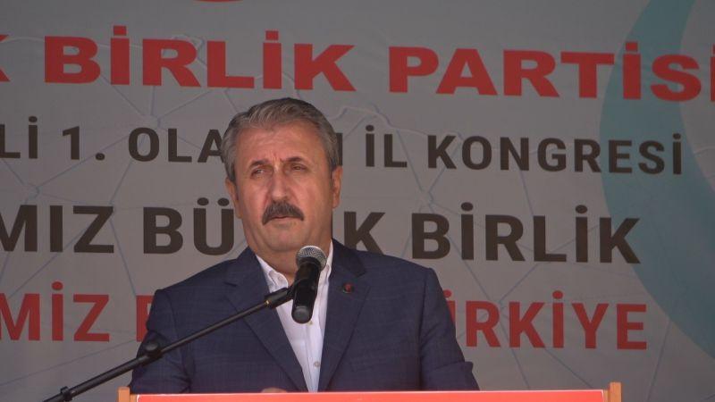 BBP Genel Başkanı Destici HDP'nin Çoktan Kapatılması Gerekiyordu